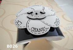 CHANEL bracelet cuf bangle elegant, vintage and also extravagant Black Wrist White Flower chanel Chanel Bracelet, Bangles, Bracelets, White Flowers, Elegant, Rings, Floral, Vintage, Black