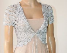 Check out our shrugs & boleros selection for the very best in unique or custom, handmade pieces from our shops. Wedding Shrug, Bridal Bolero, Bridal Cover Up, Shrugs And Boleros, Unique, Lace, Crafts, Etsy, Clothes