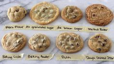 I've been looking for this post forever!!!  HOW DO YOU WANT YOUR COOKIES TO COME OUT? This is GREAT info!! I know I always wonder why my cookies either come out too flat, crispy, not soft and chewy like I like mine! Check out this information!!  Bake the Best Chocolate Chip Cookies by Knowing What to Tweak  https://www.facebook.com/photo.php?fbid=10202209943045148