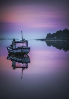 the fishing boat at sunrise by Art Hakker HDR Photography AKA David Stoddart on 500px