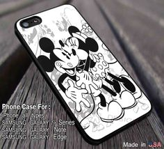Romantic Kiss Mickey Mouse Minnie iPhone 6s 6 6s  5c 5s 6plus Cases Samsung Galaxy s3 s4 s5 s6 Edge  NOTE 5 4 3 Covers #cartoon #disney #MickeyMouse dl12