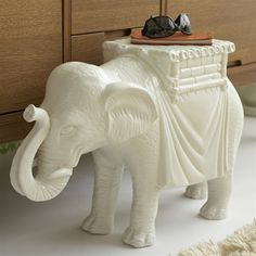 Elephant side table....sure, why not!