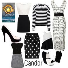 """Candor Faction from Divergent by Veronica Roth"" by sash-and-em on Polyvore"