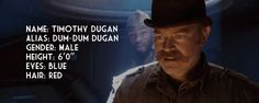 Timothy Dugan / Dum-Dum ~ Howling Commandos