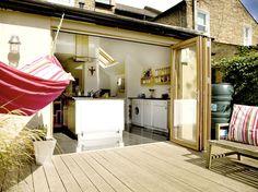 Kitchen extension.