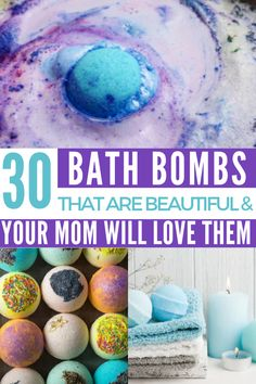 How to Make Mom Beautiful Bath Bombs She Will Love to Pamper Herself With | if you're looking for simple and easy step by step tutorials for beginners, or want complex DIY ideas for bath bombs, these are exactly what you need. We