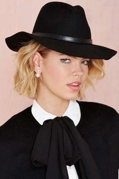 Nasty Gal Go Undercover Wool Hat