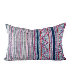 Handwoven Hmong Textile Pillow 1420