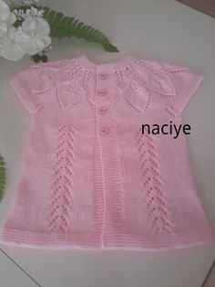 Quick and Easy Picture Sharing Upload pictures Share pictures Quick Res Serpil Kky Baby Knitting Patterns, Baby Sweater Knitting Pattern, Knit Vest Pattern, Knitting Stitches, Knitting Socks, Crochet Baby Jacket, Knit Baby Dress, Knit Crochet, Diy Crafts Knitting