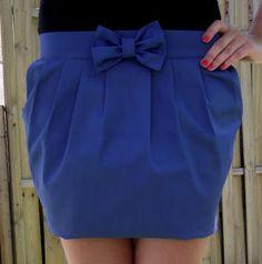 Blog o szyciu: Spódnica bombka. PART III - Szycie