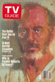 TV Guide, Bernie Fuchs, Pernell Roberts as Trapper John M.D.