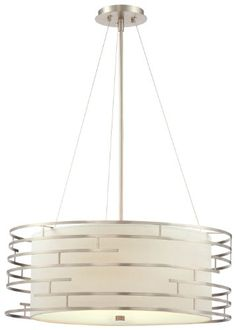 Philips Forecast 190215836 Labyrinth Pendant, Satin Nickel