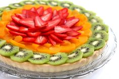 Tarta de post cu fructe - Desert De Casa - Maria Popa Fruit Salad, Food, Pie, Fruit Salads, Essen, Meals, Yemek, Eten