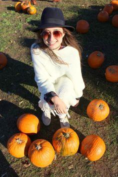 Conhecendo a fazenda Lookout Farm #farm #loooftheday #fashion #fall #pumpkins