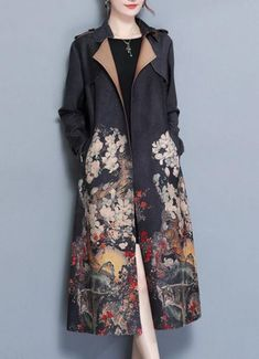Ideas Sewing Patterns For Women Jackets Coats – Sewing 2020 Kimono Fabric, Kimono Dress, Coats For Women, Jackets For Women, Clothes For Women, Modern Kimono, Sewing Clothes, Types Of Fashion Styles, Fashion Outfits