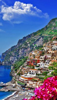 Beautiful Colors of Positano, Italy