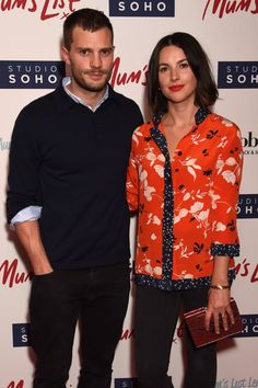 Jamie Dornan and His Wife Are Back on the Red Carpet and Looking Lovely