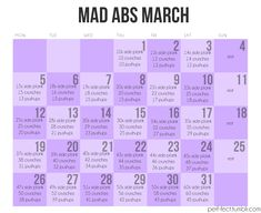 Well I'm doing February, I might as well do March.