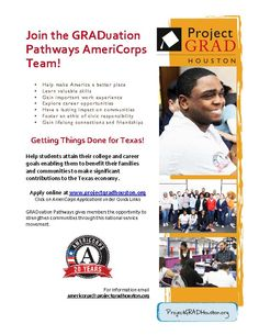 Become a GRADuation Pathways AmeriCorps Member.