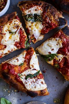 The Montanara Pizza (Classic Fried Italian Pizza) | halfbakedharvest.com @hbharvest