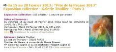 Prix de la Presse 2013
