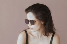 Clara wears the Aiko #sunniesstudios | Sunnies Studios
