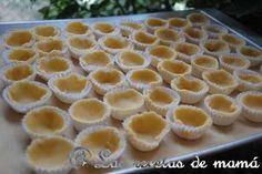 Tartaletas de pasta brisa