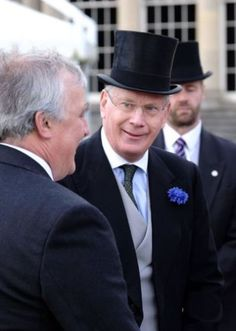 Duke of Gloucester, May 24, 2016 at the Queen's garden tea party