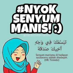 Senyum manismu akan merubah lingkunganmu yah tapi jangan kebanyak senyum sama lawan jenis nanti bisa bikin dia baper. . .  : @true.muslimah.identity . .  #hijrahsantun #kartunmuslimah #ilovenyolnyol #sukses #posterdakwah #muslimah #hijab #kartunmuslimah #komikinajah #komikstrip #beraniberhijrah #komikislami #komikstripislami #muslimmanga #kartundakwah #jomblosampaihalal #nikahasik #taaruf #pacaran #duniajilbab #komikindonesia #kreatif #kreatifitas #keren #imajinasi