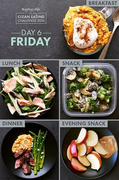 Day 6 Of BuzzFeed's 7-Day Clean Eating Challenge