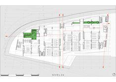 Universidad de Ingeniería y Tecnología - UTEC Nueva sede,Planta nivel 04