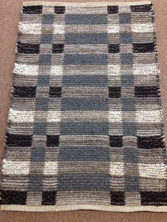 """Long Winter"" Wool blend recycled fabrics 33"" X 48"""