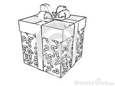 Illustration about Christmas Gifts Boxes Adult Children Coloring Book Black White Sketch Cartoon Children Anti-stress Relaxing Coloring. Illustration of children, book, antistress - 133242121 Adult Coloring, Coloring Books, Christmas Gift Box, Anti Stress, Adult Children, Decorative Boxes, Sketch, Cartoon, Black And White