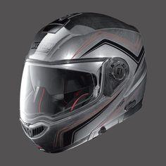 Caschi da moto Integrali NOLAN N104 ABSOLUTE SCRATCHED CHROME