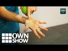 The Secret Pressure Point To Ease Neck Pain | #OWNSHOW | Oprah Winfrey Network - YouTube