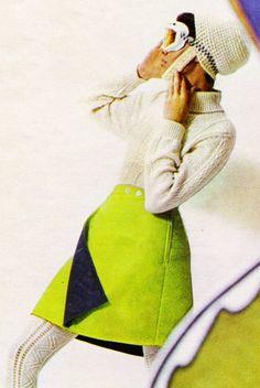 1960s Mini and tights