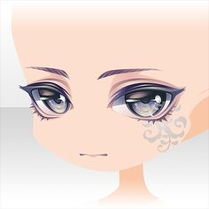 Anime Hair, Anime Eyes, Chibi Eyes, Character Art, Character Design, Chibi Characters, Drawing Expressions, Cute Eyes, Cocoppa Play