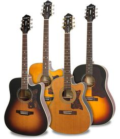 The Epiphone Masterbilt Series. Hand-made from solid tonewoods since 1931... http://www.epiphone.com/News/Features/2016/The-Epiphone-Masterbilt-Series.aspx