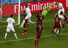 #Mondiali2014 Algeria - Russia, #Slimani segna il pari.