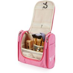 To find out about the Double Zipper Makeup Bag at SHEIN, part of our latest Makeup Bags ready to shop online today! Makeup Travel Case, Makeup Case, Lip Makeup, Makeup Brushes, Travel Toiletries, Travel Cosmetic Bags, Travel Bag, Purse Organization, Wash Bags
