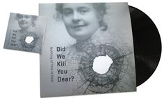 The album: Did we kill you dear? by Nothing of this is Real. Cover-art by Christina Bruun Olsson