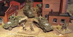 Flames of War | Flames of War models painted by Robin - Robins Flames of War/Wargames ...
