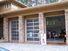 1000 images about semi addiction on pinterest rv garage for How tall is an rv garage door
