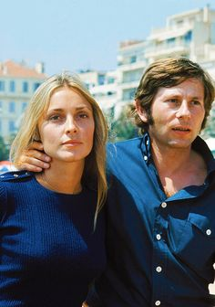 lovesharontate:    Sharon Tate and Roman Polanski at Cannes Film Festival, 1968