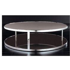 Minotti Huber round coffee table