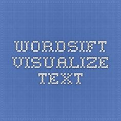 WordSift - Visualize Text