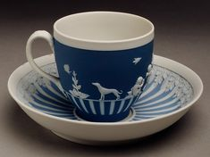 Cup and saucer Factory: Josiah Wedgwood and Sons (1759–present) Date: 18th century Culture: British, Etruria, Staffordshire Medium: Jasperware