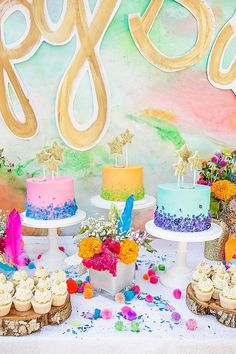 rock candy cakes