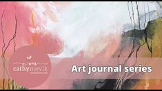 Intuitive expressive painting - art journal spread Mixed Media Artists, Abstract Landscape, Artist At Work, Art School, Painting Art, Intuition, Journal, Film, Videos