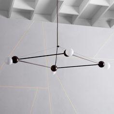 Rosie Li Chandelier - 4-Light (Diamond) | west elm